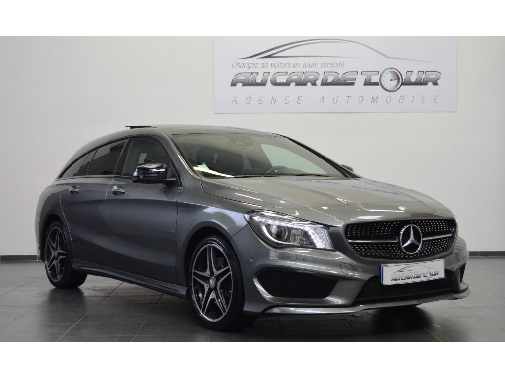 mercedes benz cla shooting brake 220 cdi 177ch fascination 7g dct au car de tour agence. Black Bedroom Furniture Sets. Home Design Ideas