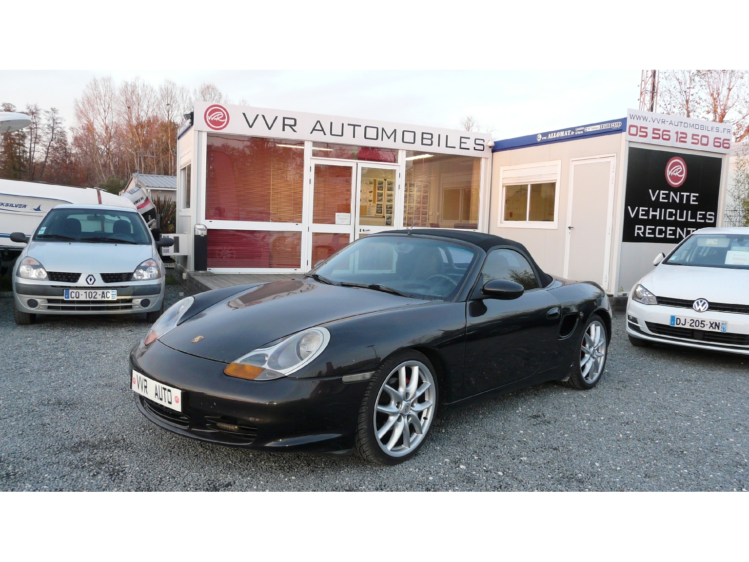 voiture porsche boxster boxster 2 5 occasion essence 1998 151200 km 11990 m rignac. Black Bedroom Furniture Sets. Home Design Ideas